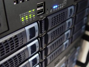 Bild eines servers