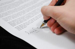 Bild mit einer Unterschrift